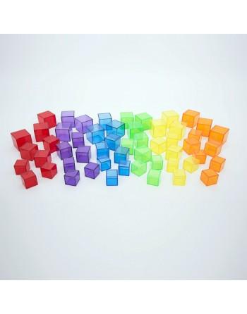 Set de cubos translúcidos...