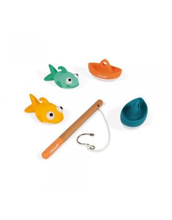 Juego de pesca para el baño