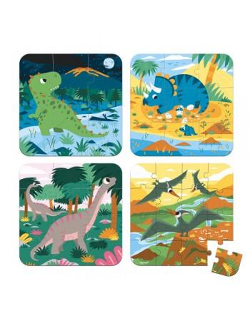 Set 4 puzles evolutivos -...