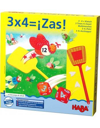 3 x 4, Zas