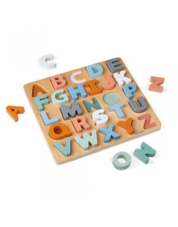Puzle abecedario Sweet Cocoon